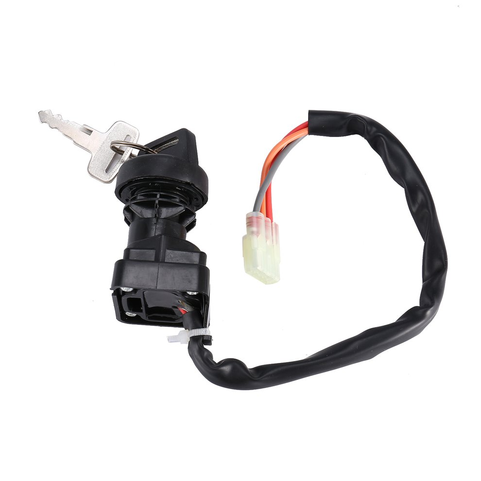 Ignition Key Switch Fits Arctic Cat 400 2x4 4x4 Fis Vp Act Mrp Manual 2000-2007