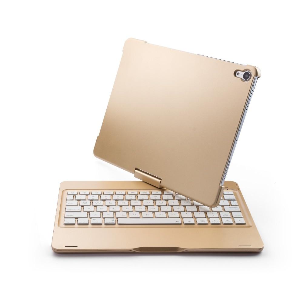 ipad pro11寸ABS旋转带背光蓝牙键盘F360B  (14)