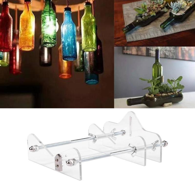 Professionnel verre coupe-bouteille manuel vin bière verre coupe-bouteille bricolage décor outils Machine pour bouteilles coupe verre