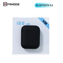 Youbina i88 TWS Twins Wireless Earbuds Mini Bluetooth V5.0 Stereo Headset earphone For all smart cell phone