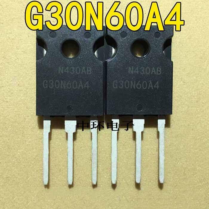4 шт. G30N60A4 HGTG30N60A4 TO 247 4 шт./лот Новый оригинал в наличии