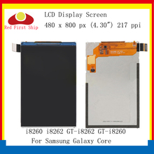 10Pcs/lot For Samsung Galaxy Core i8260 i8262 GT-i8260 GT-i8262 LCD Display Screen Monitor Module 8260 8262 Replacement