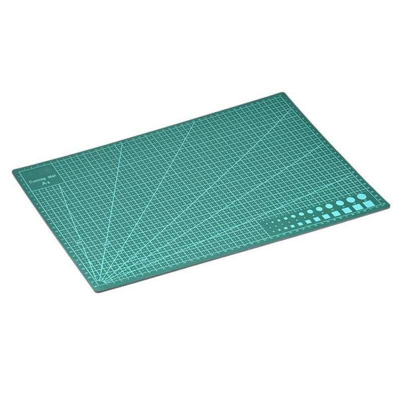ABKT-A3 Double Sided Self Healing 5 Layers Cutting Mat Metric/Imperial 45cmx 30cm Quilting Ruler Suitable For Paper Card Fabric