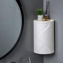Ванная комната 360 градусов вращающаяся треугольная полка для