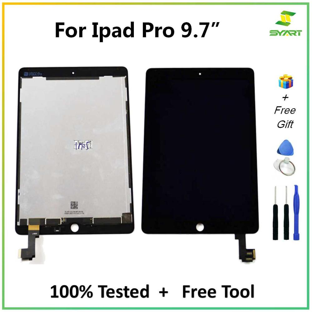 "LCD Display Touch Screen Digitizer Assembly For Ipad Pro 9.7/"" Replacement Black"