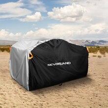Funda Anti-UV para motocicleta Polaris, protección contra la lluvia y el polvo para QUAD Motor Bike 256 T, XXXL, 210cm, XL, 190 cm, playa, ATV, D20
