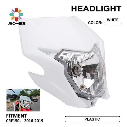 Motorcycle Plastic Headlight Fairing Head Light Lamp Motocross For Honda CRF150L CRF 150L 2016 2017 2018 2019 Dirt Bike