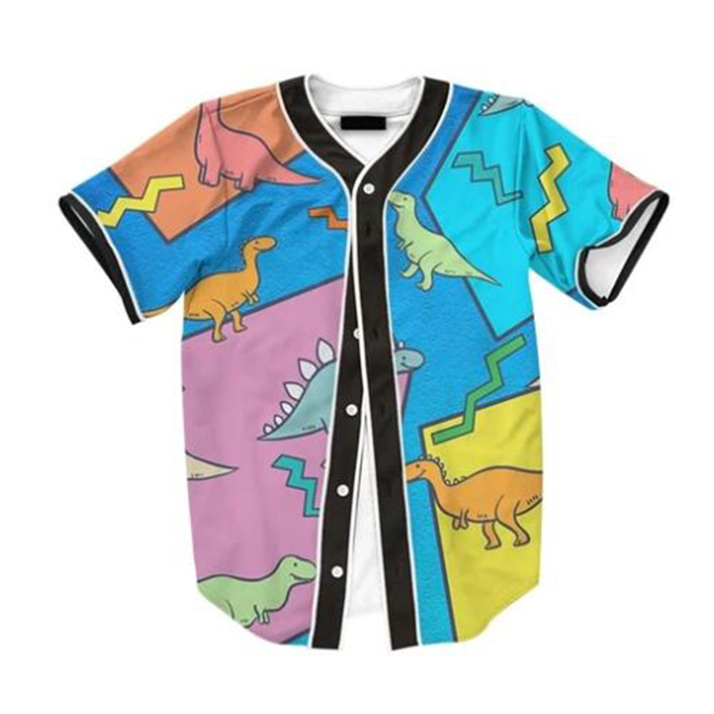 MODAVELOCE Dino Hoodie Shirt 3d Print Shirt For Men Summer Short Sleeve Anime's  Casual  Hawaiian Shirt 2020  Luxury Beach Shirt