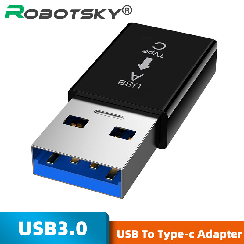 Type-c Female To USB Male Connector Charging Test 3.1 USB C Female Hard Disk USB 3.0a Male Converter For Samsung Xiaomi Huawei