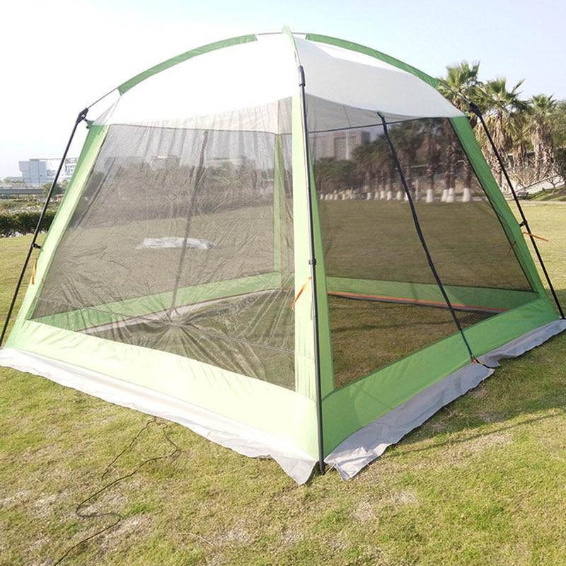 Outdoor Pergola Camping Sunshade Portable Folding Beach Canopy Rainproof Tent - 2