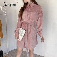Теплое платье-рубашка от Simplee Цена от 1316 руб. ($16.78) | 70 заказов Посмотреть