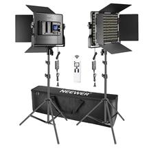 Комплект оссветильник приборов Neewer для видеосъемки, 660 светодиодный, 2,4 ГГц