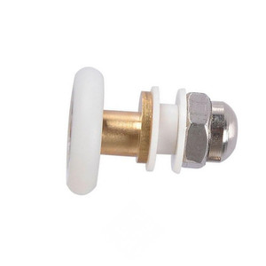 Durable Roller Shower Rooms Cabins Pulley Shower Room Roller /Runners/Wheels/Pulleys Diameter 25MM/27MM(China)