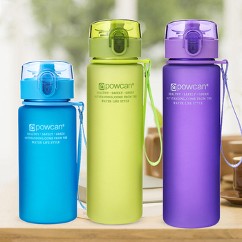 400ml 560ml Portable Leak-proof Water Bottle High Quality Tour Outdoor Bicycle Sports Drinking Plastic Water Bottles 10