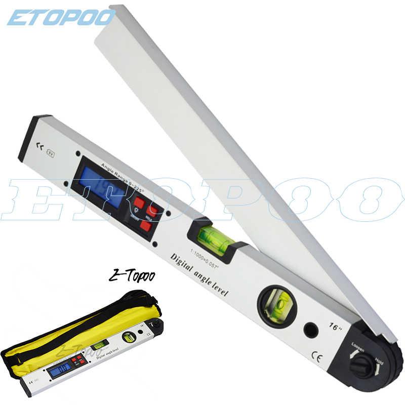 0~225° Digital Electronic Level Angle Finder Goniometer Protractor Gauge Ruler