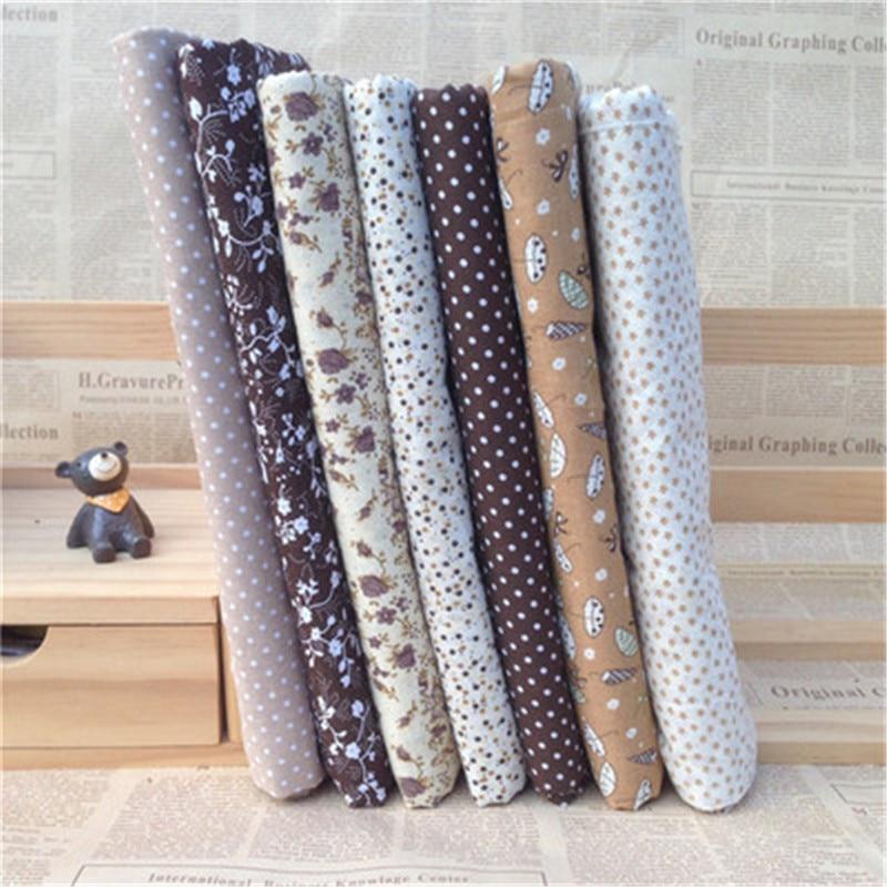 Cotton Printed Fabric Polka Dot Cloth Clothing Curtain Tablecloth Hug Pillowcase Fabric Handmade Accessories