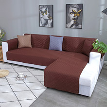Housse de protection pour canapé et fauteuil 1/2/3/4 places, accoudoir, pour animal de compagnie et enfant, imperméable, compatible avec canapé type L