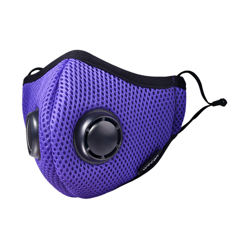 Wecan Dustproof Breathable Men's And Women's--Cool Winter Fog And Haze PM2.5 Weatherization Filter Breather Valve Masks