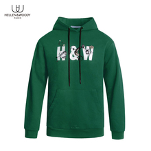 HW Fashion Brand Mens Hoodies Spring Autumn Male Casual Hoodies Sweatshirts Top Quailty Mens Pullover Sweatshirt