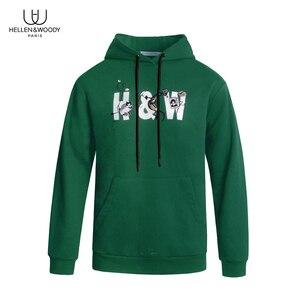 Image 1 - HW Fashion Brand Mens Hoodies Spring Autumn Male Casual Hoodies Sweatshirts Top Quailty Mens Pullover Sweatshirt