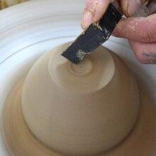8 шт. керамический инструмент из нержавеющей стали керамическая глиняная скульптура ножи с резиновой ручкой гончарные инструменты