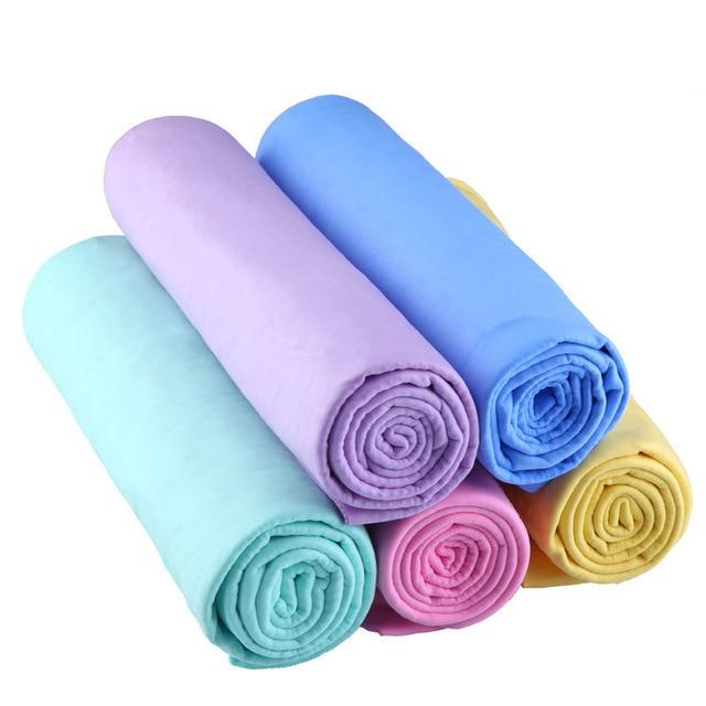 Car Washing Towel Pet Dry Hair Towel Suede Towel Microfiber Cleaning Cloth Synthetic Deerskin 66 * 43cm Chamois Towel 1