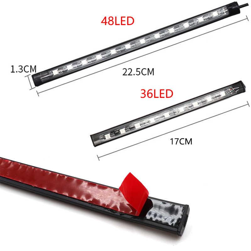 Đèn LED Xe Hơi Ô TÔ CHÂN Ánh Sáng Môi Trường Xung Quanh Đèn USB Không Dây Điều Khiển Nhạc Từ Xa Nhiều Chế Độ Nội Thất Ô Tô Đèn Trang Trí