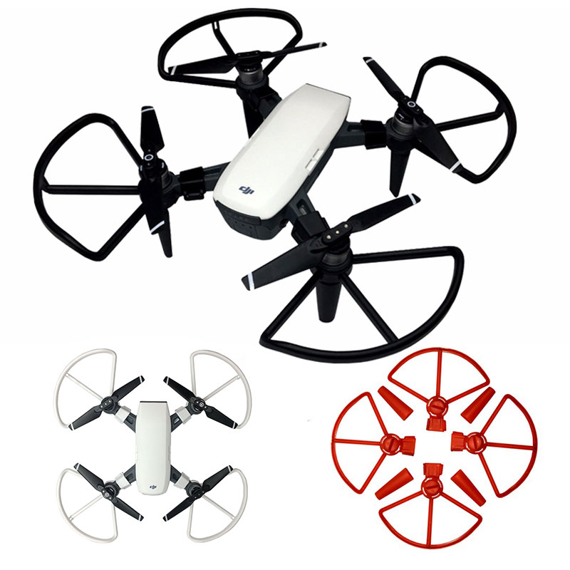 4pcs Propeller Guard 4730 Blade Bumper For DJI Spark Protector Quick Release Spare Parts With Drone Landing Gear Accessories