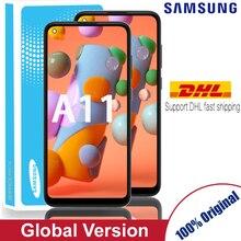 LCDต้นฉบับสำหรับSamsung Galaxy A11จอแสดงผลLCDหน้าจอสัมผัสสำหรับSamsung A115F A115F/DS Lcdบริการแพ็ค