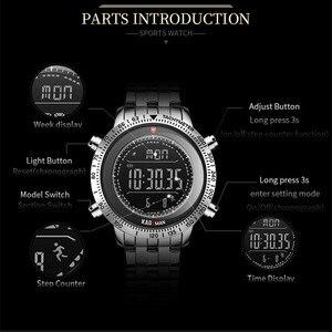 Image 2 - KADEMAN 패션 스텝 남자 시계 밀리터리 스포츠 시계 럭셔리 톱 브랜드 크로노 그래프 손목 시계 캐주얼 남성 야외 시계 Relogio