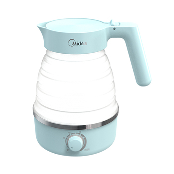 Travel Can Be Folded Electric Kettle Dormitory Small Mini Home Portable Power Kettle Automatically