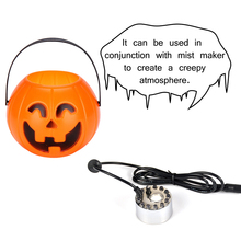 купить Pumpkin Lantern Night Light Mist Maker Fountain Fogger Humidifier Multifunctional Candy Box Halloween Decorations  LB88 онлайн