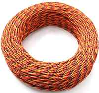 5M 16 feet 22AWG 26awg 30/60 Core 3 way Twist Servo Extension Cable JR Futaba Twisted Wire Lead For RC Airplane Accessories