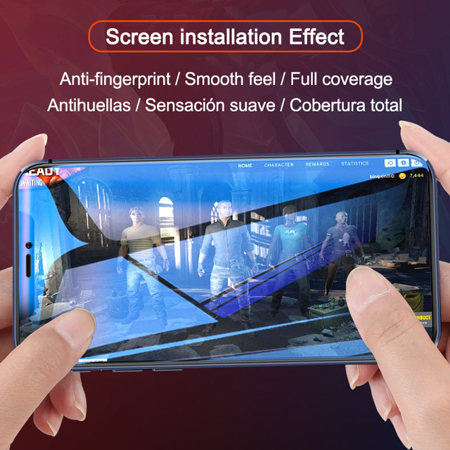 500D Full Cover Hydrogel film For iPhone 11 12 Pro MAX mini Screen Protector For iPhone 7 8 6s 6 Plus SE 2020 XR X XS Not Glass 5