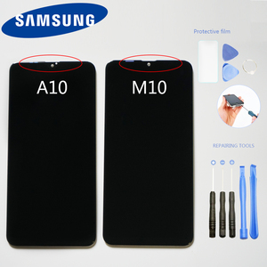 Original 6.2'' LCD For Samsung Galaxy A10 M10 A105 SM-A105F LCD Display Touch Screen Digitizer Assembly Replacement Amoled