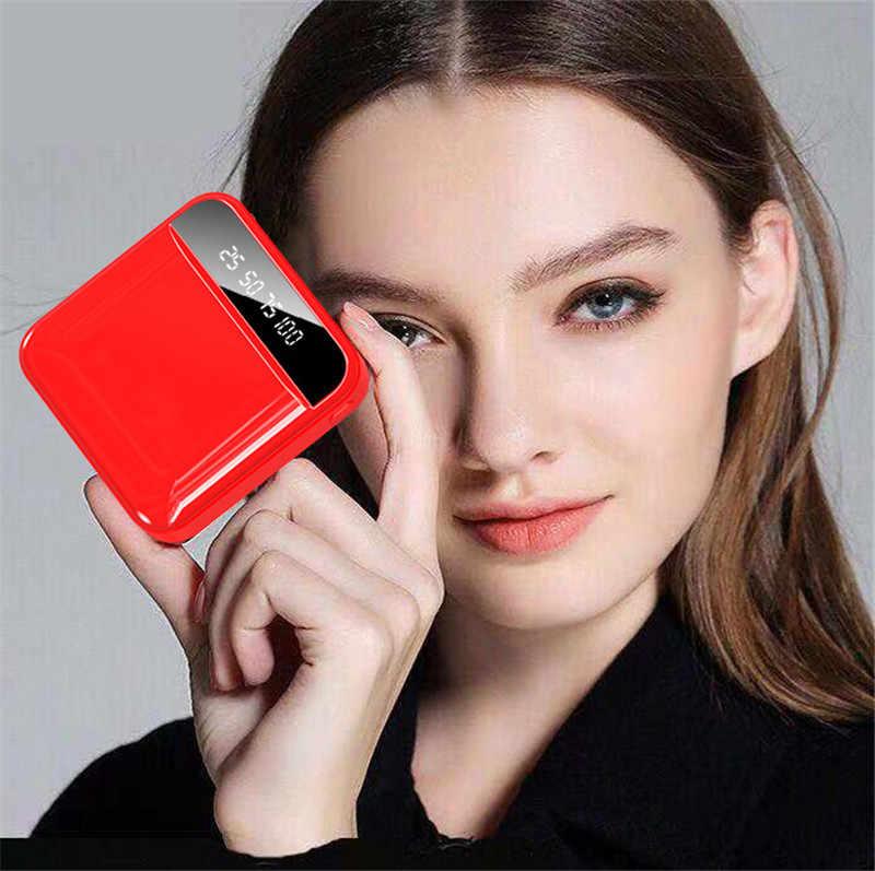 ミニ 30000 mah 電源銀行携帯電話の充電器屋外旅行 powerbank led ライト poverbank 液晶デジタルディスプレイスマートフォン