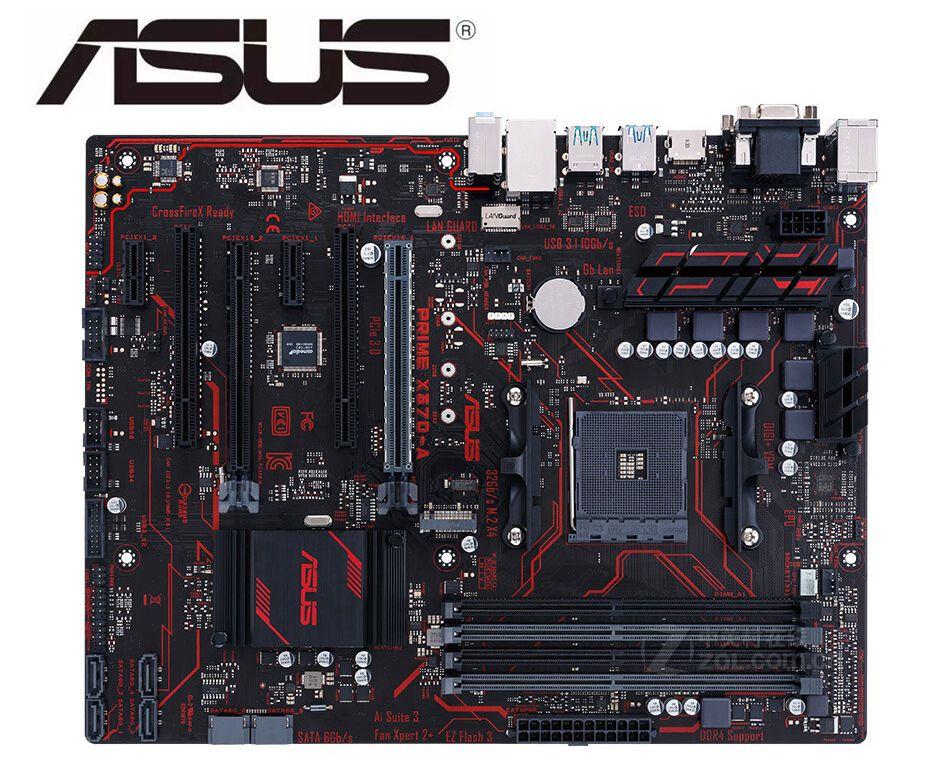 ASUS PRIME X370-A Original Motherboard Socket AM4 DDR4 64GB USB3.0 USB3.1 Boards M.2 SATA3 Desktop Motherboard