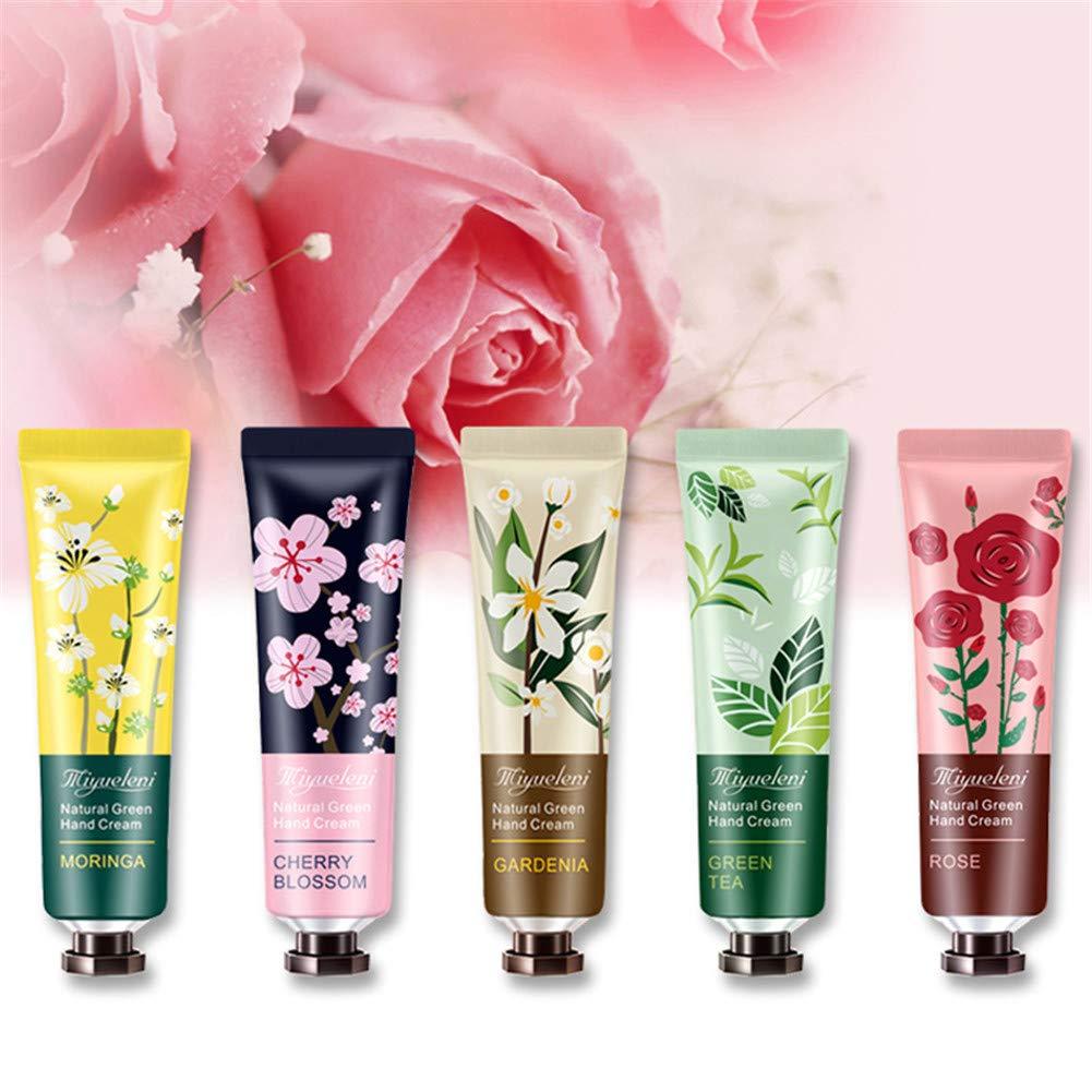 10pcs Plant Fragrance Hand Cream Moisturizing Hand Care for Women Men Winter Travel EY669