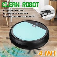 3200pa USB умный робот перезаряжаемый 4 в 1 автоматический умный подметальный робот УФ стерилизатор сильный всасывающий уборочный пылесос
