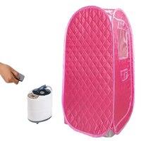 Sauna a vapor portátil  4.2l 2000w 110v 220v  gerador de vapor para spa  tenda maior  perda de peso  desintoxicação sauna de terapia cabina