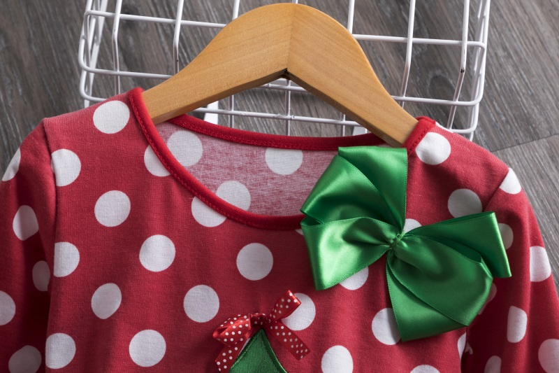 Hd1c90dfbd75f42499f2ac0156b3028daZ 2-6T Santa Claus Christmas Dress Kids Party New Year Costume Winter Snowman Baby Girl Clothes Christmas Tree Children Clothing