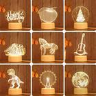 Acrylic Night Lamp C...