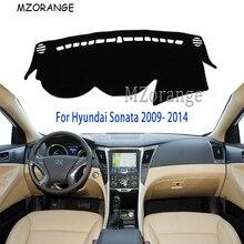 Крышка приборной панели для hyundai Sonata I45 2009- Capter 2010-2013 LHD коврик для приборной панели Защита от Солнца Крышка для приборной панели ковер