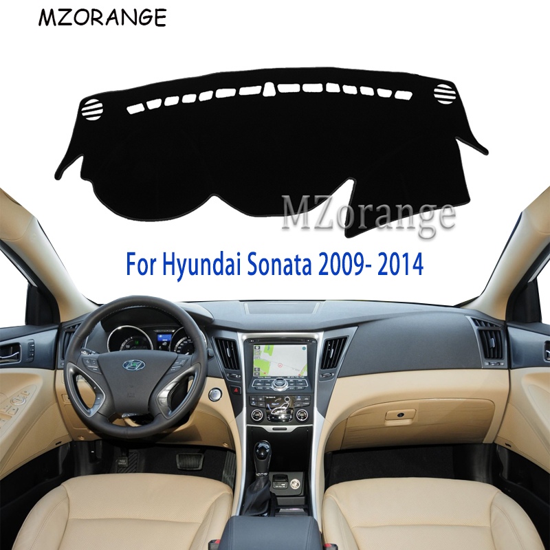 Dashboard Cover For Hyundai Sonata I45 2009-2014 Capter 2010-2013 LHD Dashmat Dash Mat Pad Sun Shade Dash Board Cover Carpet