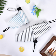 Fashion Mini Rain Umbrella Ladies Durable Sunscreen Waterproof Travel Portable Female Mens