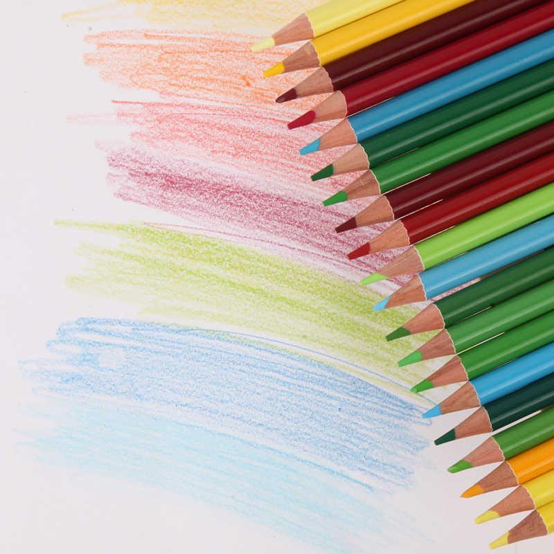 CHENYU 150 kredki woda Prismacolor Lapis de cor 48/72/160 kolory rozpuszczalny w oleju kolorowy ołówek na artykuły szkolne do plastyki