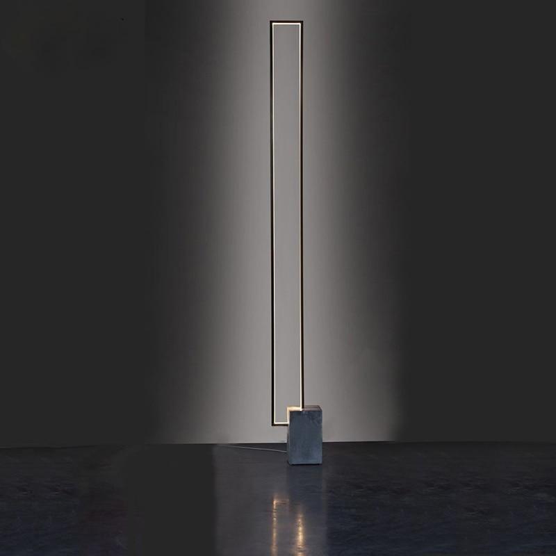 newest LED floor lamp nordic led floor light warm lighting metal base good quality fashion lighting living room lighting