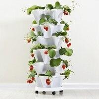 PP 三次元植木鉢イチゴ流域多層重畳栽培ポット野菜メロンフルーツ植栽ポット