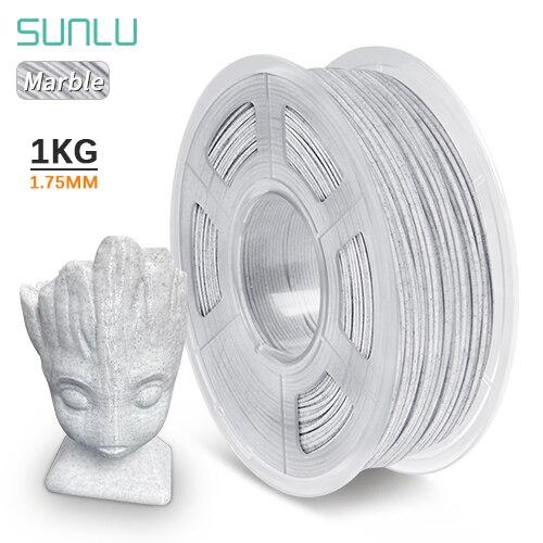 SUNLU  PLA Filament 1kg 3D Printer Extruder Filament Marble 1.75mm Printing Materials 3D FDM Printer Consumables|3D Printing Materials|   - AliExpress