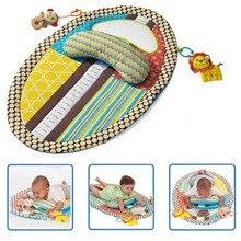 Loley esteira colorida para academia, cobertor à prova dágua para crianças, para aprendizagem precoce, tapete espelhado